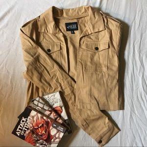 Tan Half Jacket, worn once